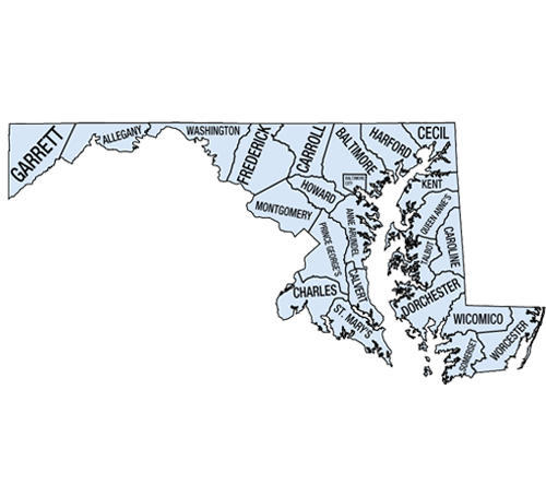 Abstractors in Maryland Choose Your County